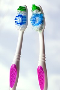 Old vs New Toothbrush