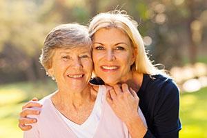 Elderly Mother & Daughter