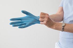 Sterile Rubber Gloves