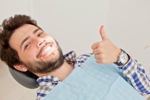 Patient at Dental Checkup